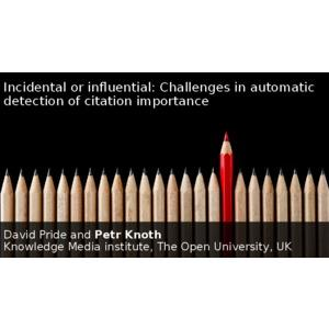 Incidental or influential: Challenges in automatic detection of